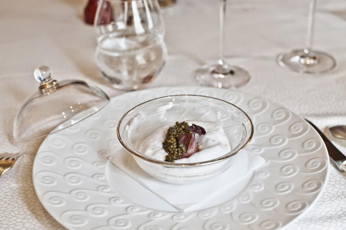 Caviar wedding appetizer