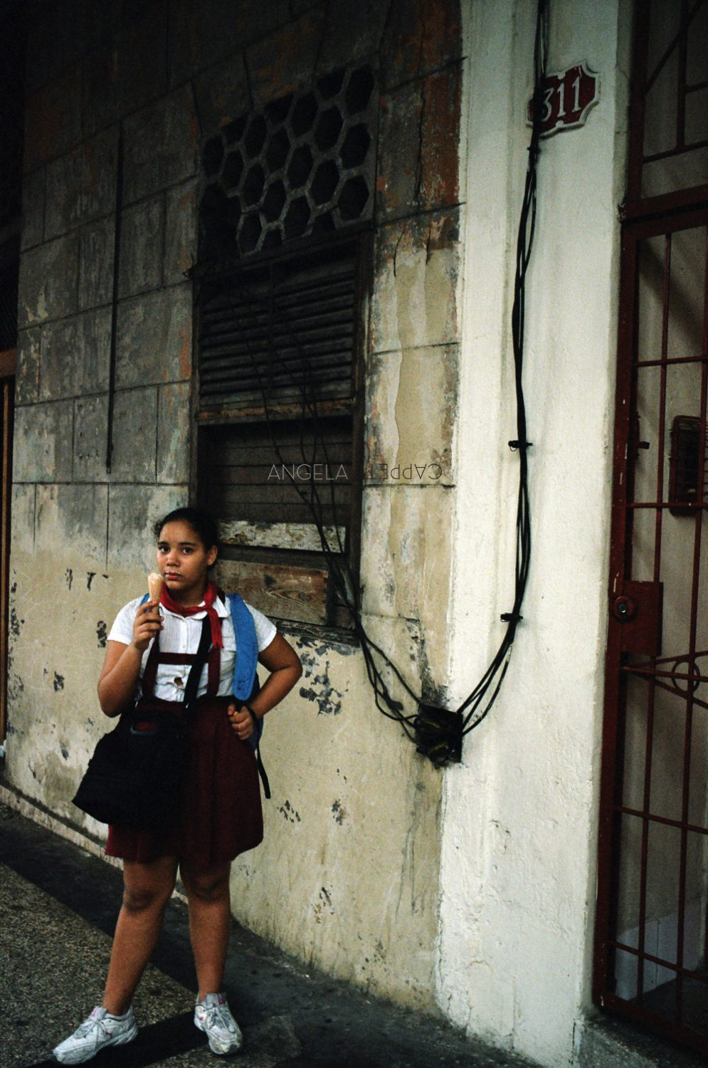 Shooting Real Film, After School Ice Cream, Havana Cuba