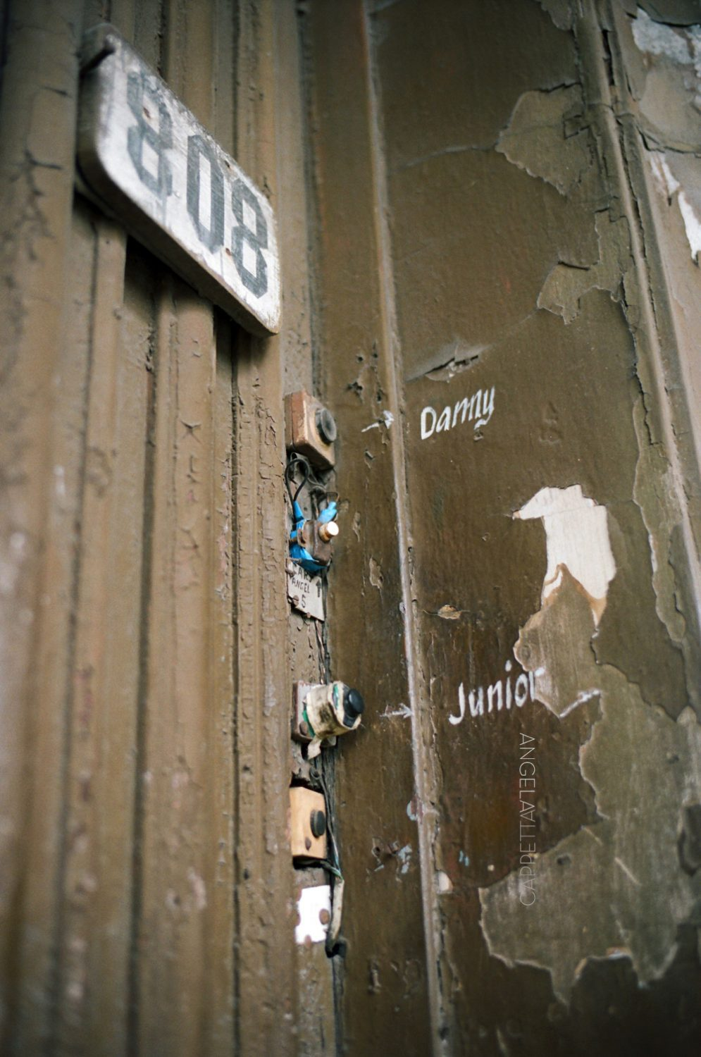 Shooting Real Film, Doorbell, Havana Cuba