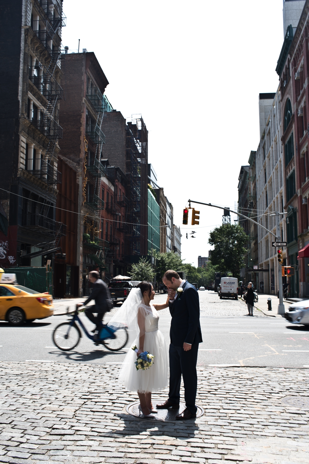 Central Park Elopement Photography Formals on Bond Street