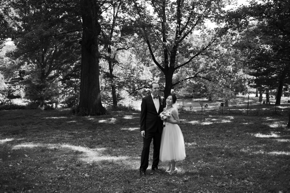 Central Park Elopement Photography Park Formal