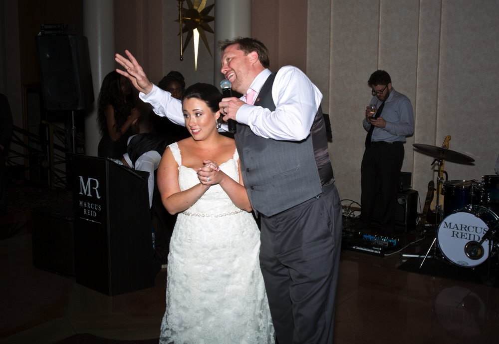 Westchester Country Club Wedding first toasts
