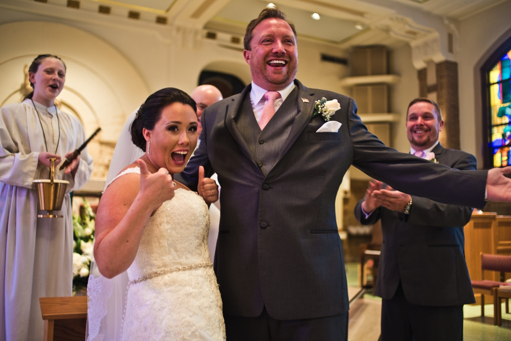 Westchester Country Club Wedding Church Ceremony Moment