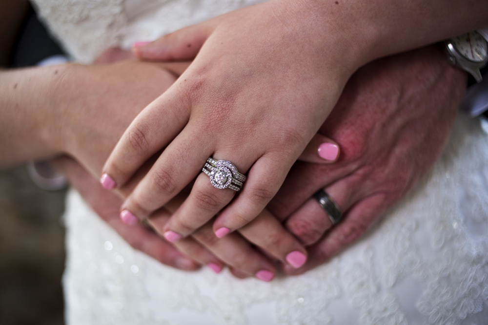 Westchester Country Club Wedding rings pic