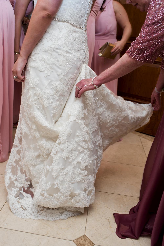 Westchester Country Club Wedding Bustling Wedding Dress