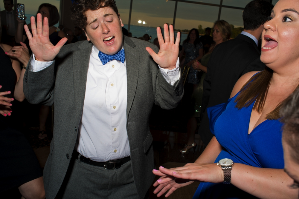 Westchester Country Club Wedding young Couple on dance floor