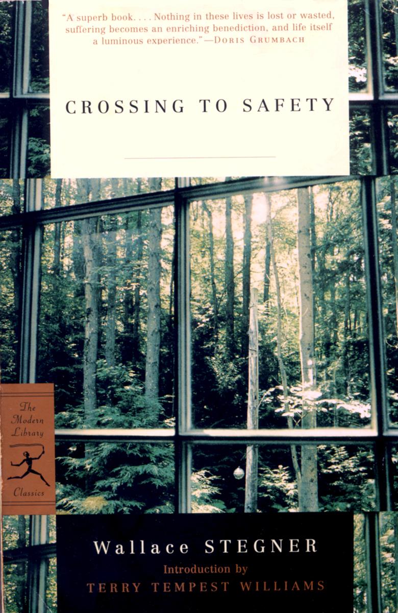 35mm film landscape on cover of novel by Wallace Stegner