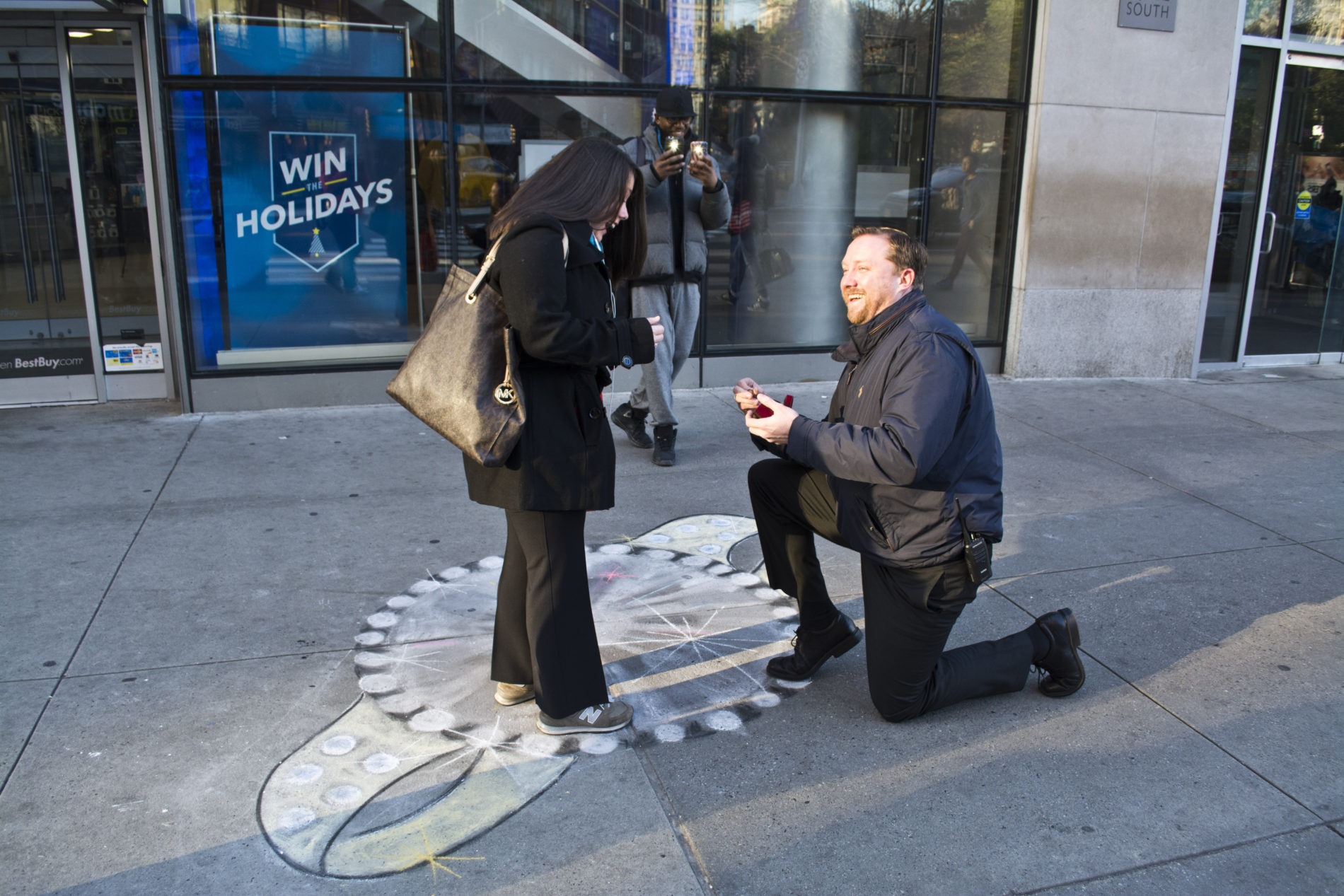 Thanksgiving Proposal Union Square NYC
