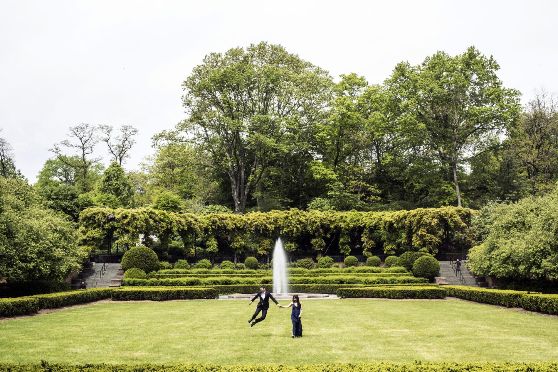 Conservatory Gardens Jump