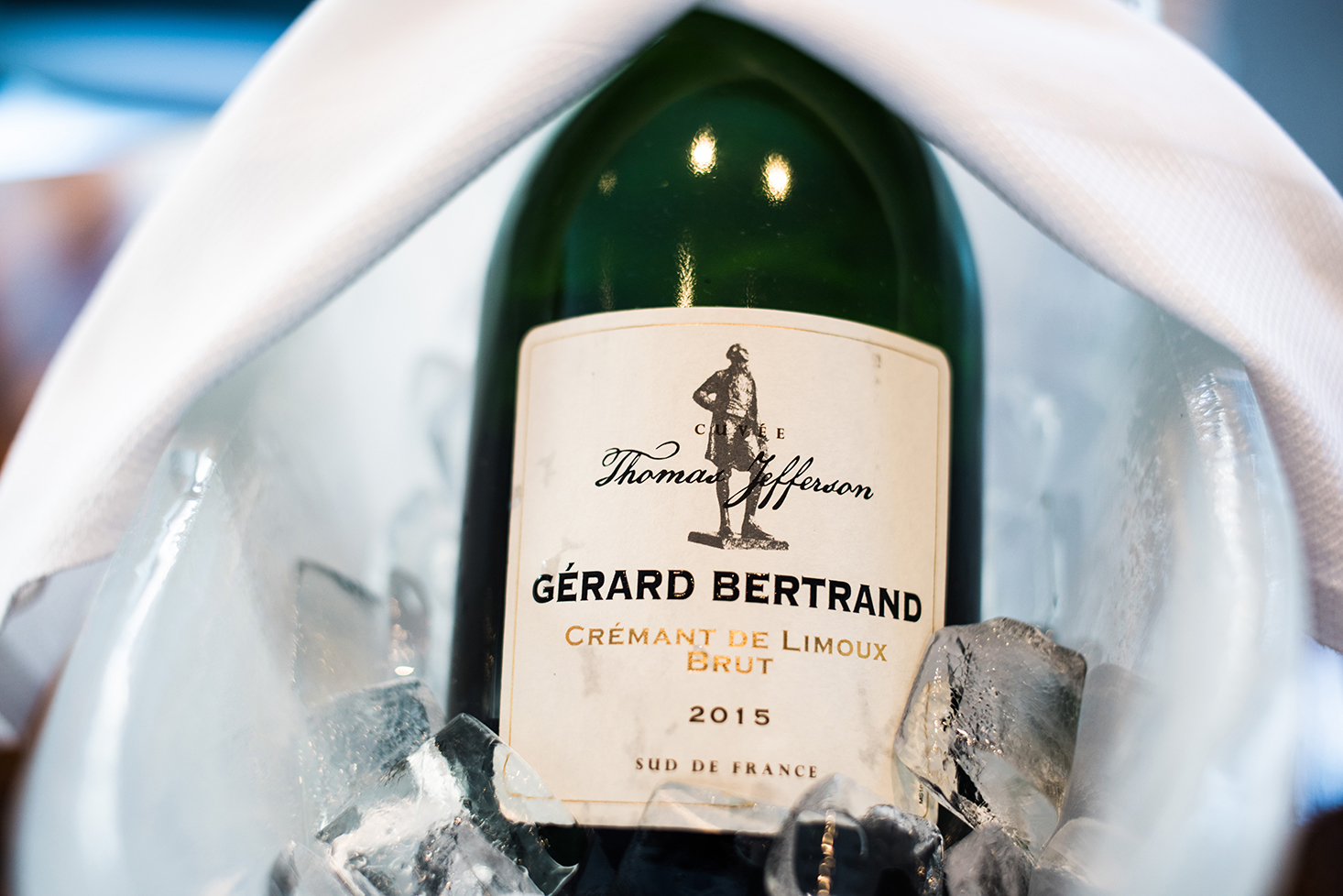 eat and drink with Gerard Bertrand champagne