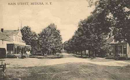 Board Members Needed. Vintage photo of Medusa, NY