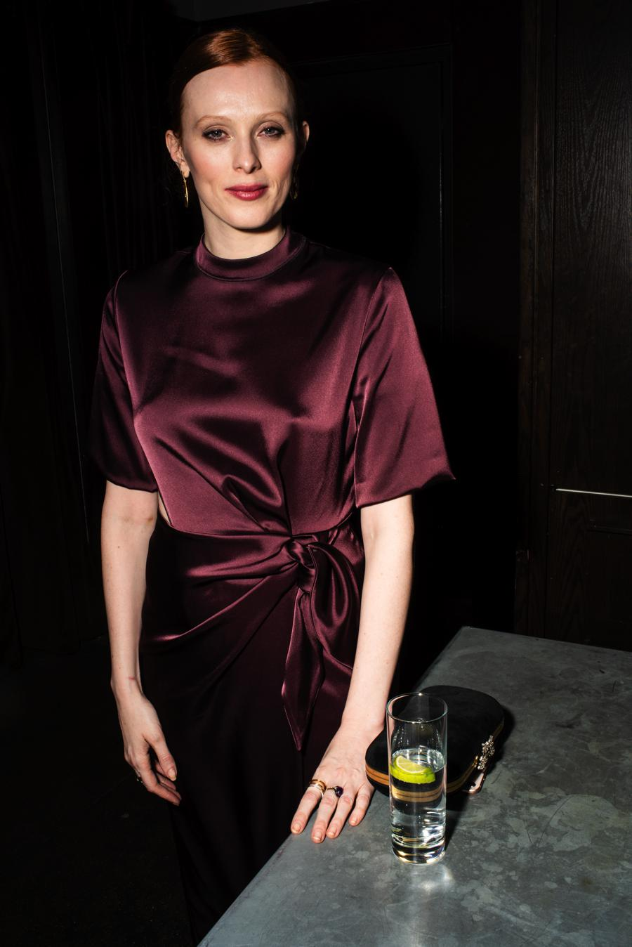 Karen Elson at Model Alliance Anniversary Party