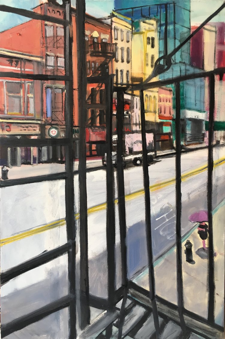 Contemporary Artist Interview Series: Painter Elizabeth Kresch written by NYC wedding photographer Angela Cappetta